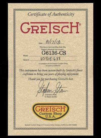 Gretsch G6136T 55 Falcon Relic CAR