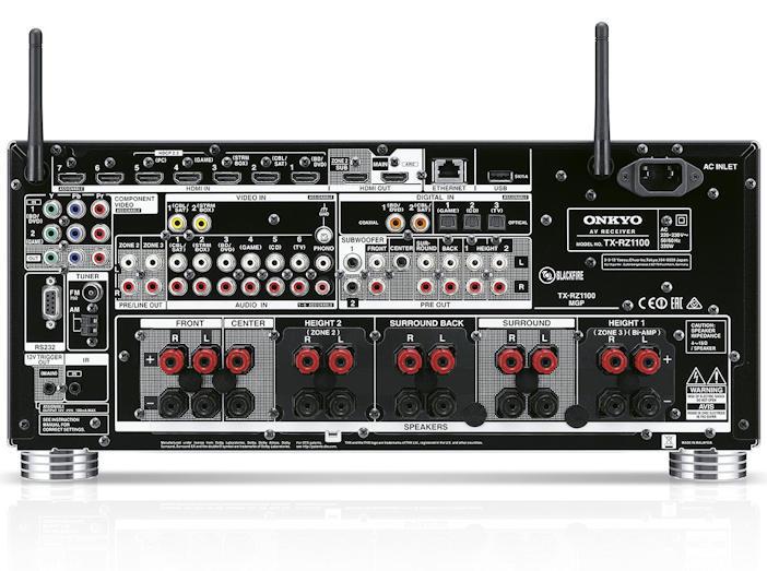 Onkyo TX-RZ1100 - Dolby Atmos