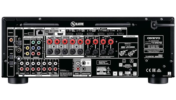 Onkyo TX-NR676E - Dolby Atmos